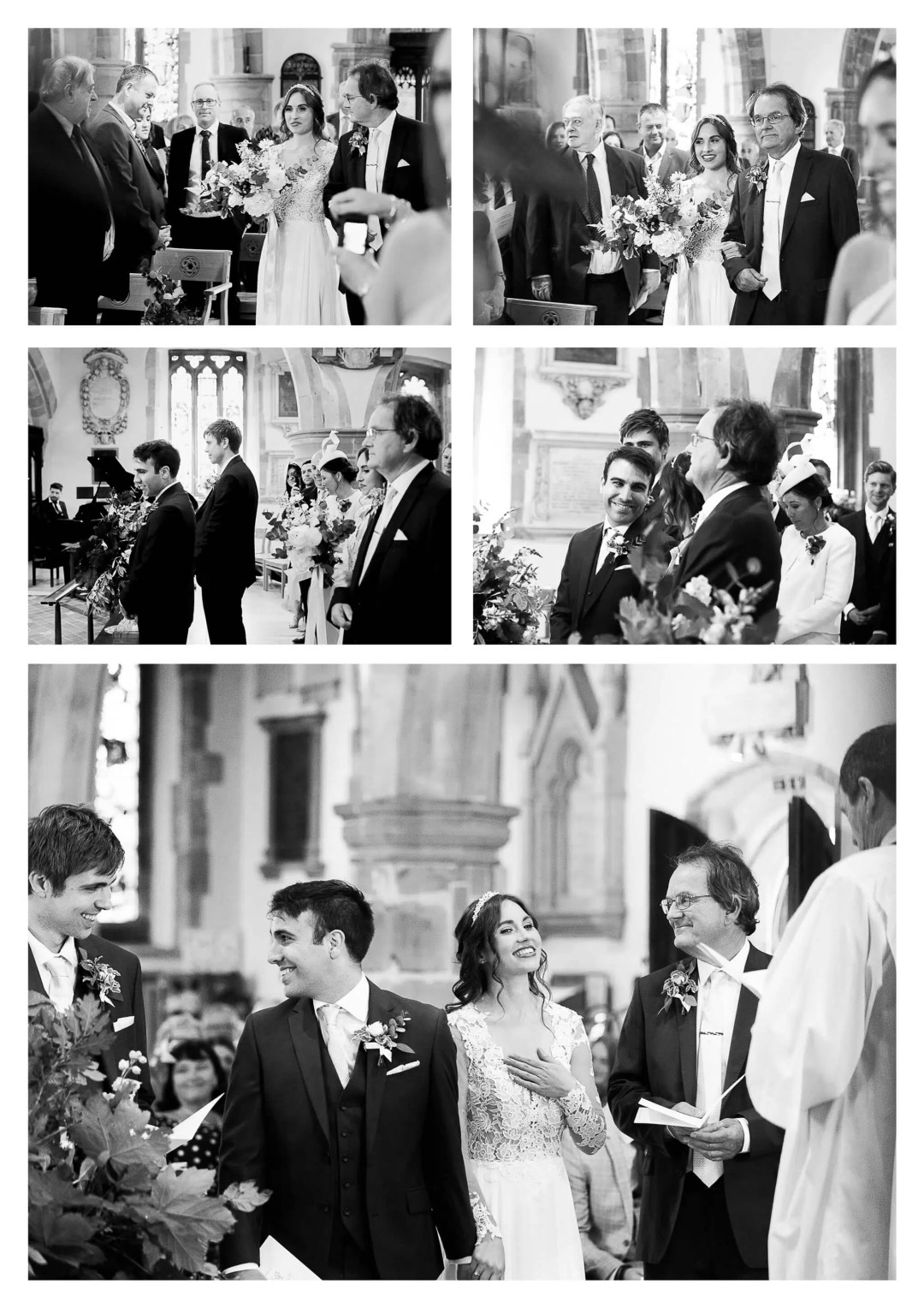 Holy Trinity Church wedding ceremony in Uckfield | Haywards Heath photographer