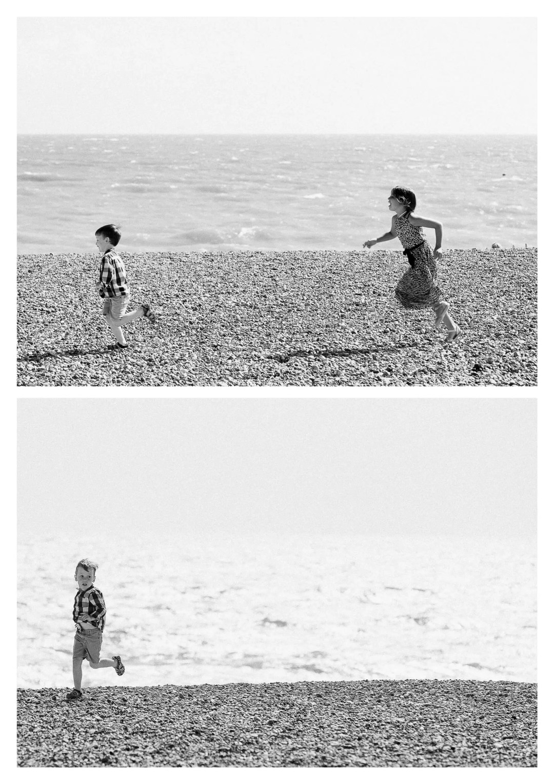 Hove beach family gathering photography by Brighton family Photographer