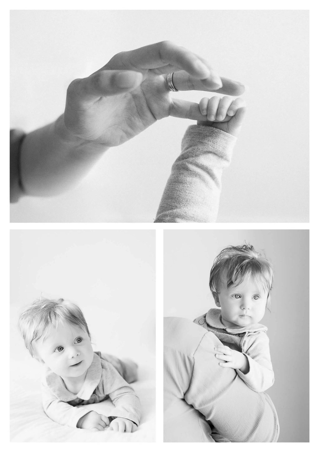 Haywards Heath family photographer for six month old girl
