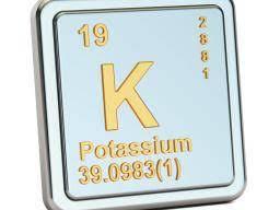 Potassium symbol