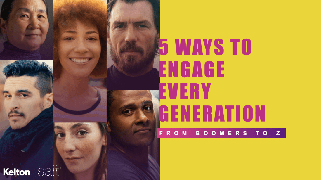 5 Ways to Engage Every Generation from Boomers to Gen Z