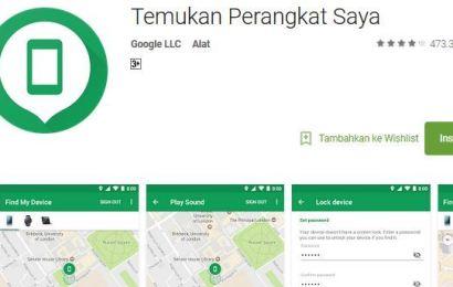 Melacak Keberadaan HP Android Dengan Aplikasi Find My Device