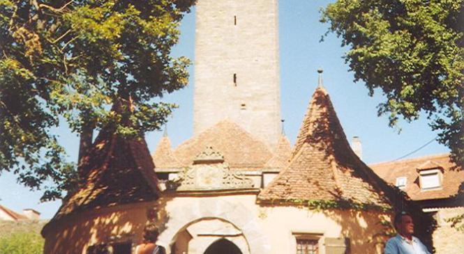 Kota Abad Pertengahan Rothenburg ob der Tauber