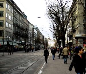 Pusat belanja Zurich