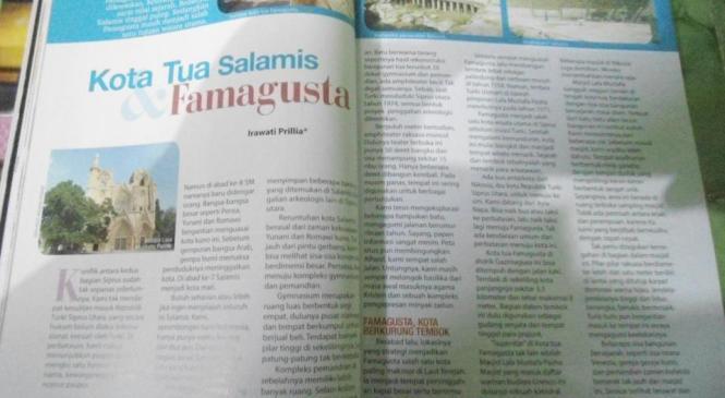 Salamis dan Famagusta di Majalah Ummi