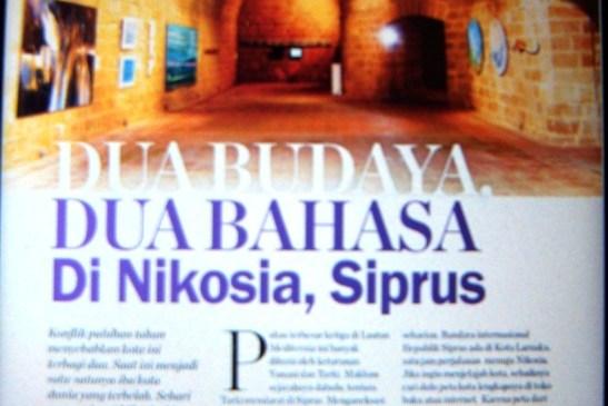 Kota Terbelah Nikosia di Majalah Kartini