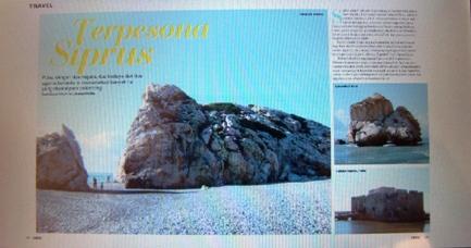 Pesona Siprus di Majalah Chic