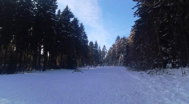Belajar Ski di Schwarzer Mann