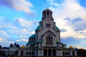 Katedral Alexander Nevsky Sofia Bulgaria