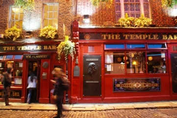 Dublin, Temple Bar dan Northside