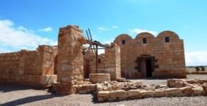 Desert castle jordan