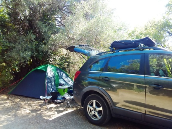 croatia camping ground