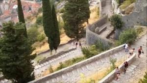 Trekking Kotor fortress