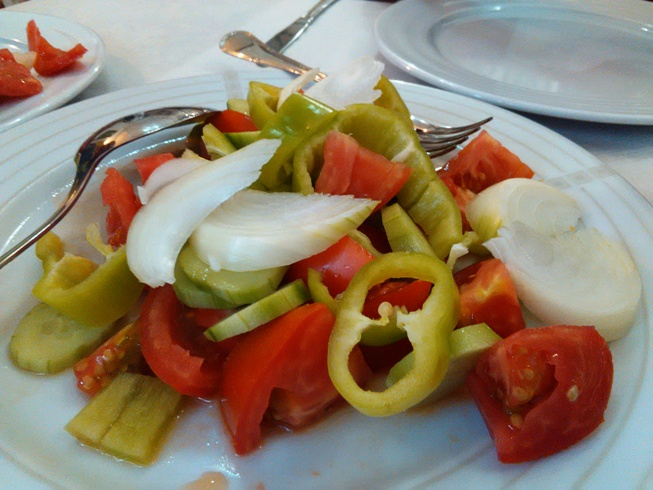 Balkan Salad, Healthy food
