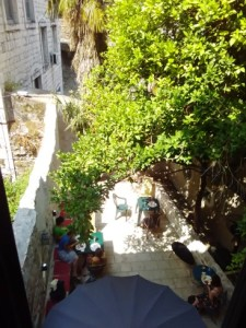 Funky staying in Kotor