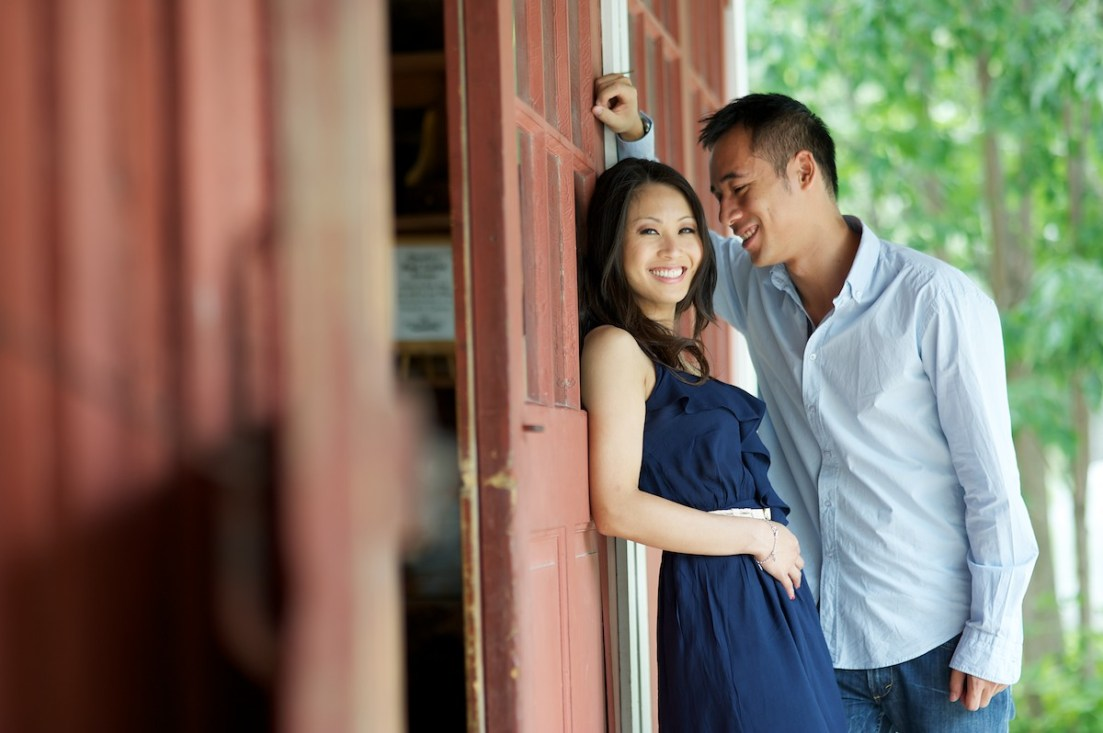 Black Creek Pioneer Village Engagement Photo Session