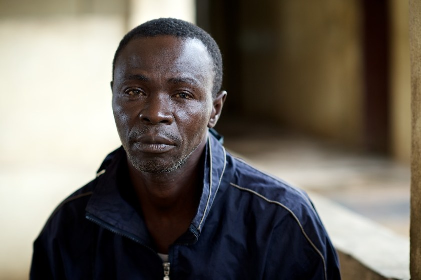 Daniel Conteh. Male. 54 years old Farmer from Masimgbi village