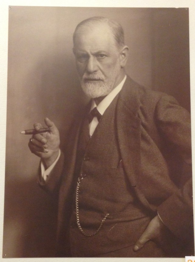 Foto tirada no museu do Freud em Viena