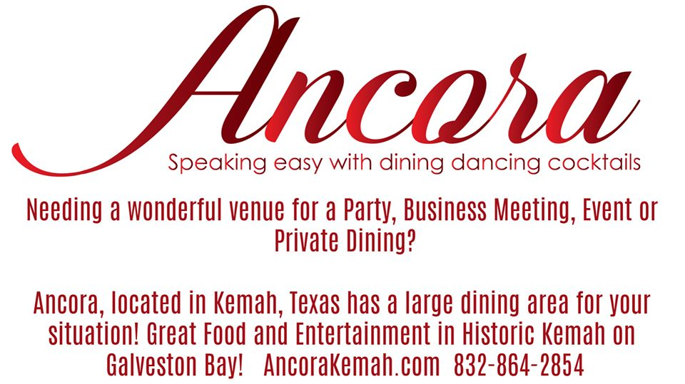 Kemah Dinner, party and meeting venue Ancora