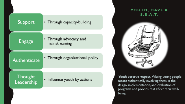 How adults can enable youth participation