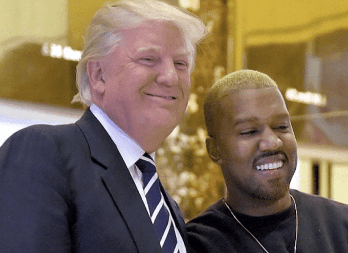 Trump tweets in support of Kanye West who got several backlash from celebrities