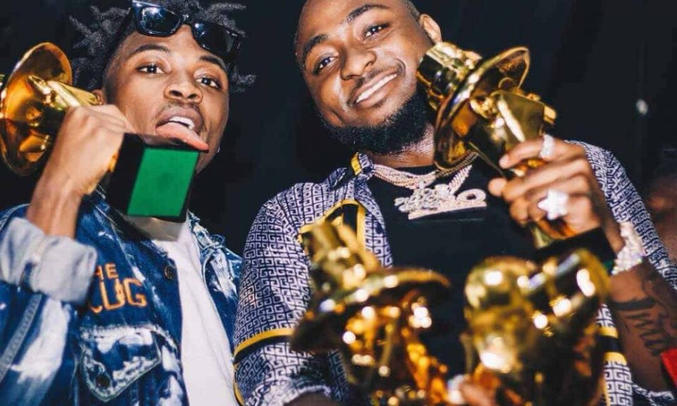 Image result for mayorkun dedicates headies to davido