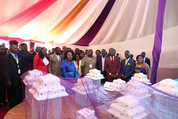 See the amount of cakes Kenyans gave to Apostle Johnson Suleman on his birthday