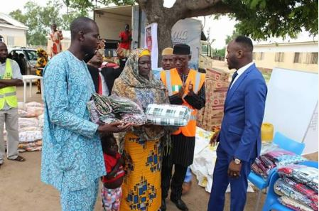 Image result for APOSTLE SULEMAN STORMS IDP CAMP IN ADAMAWA (PHOTOS)