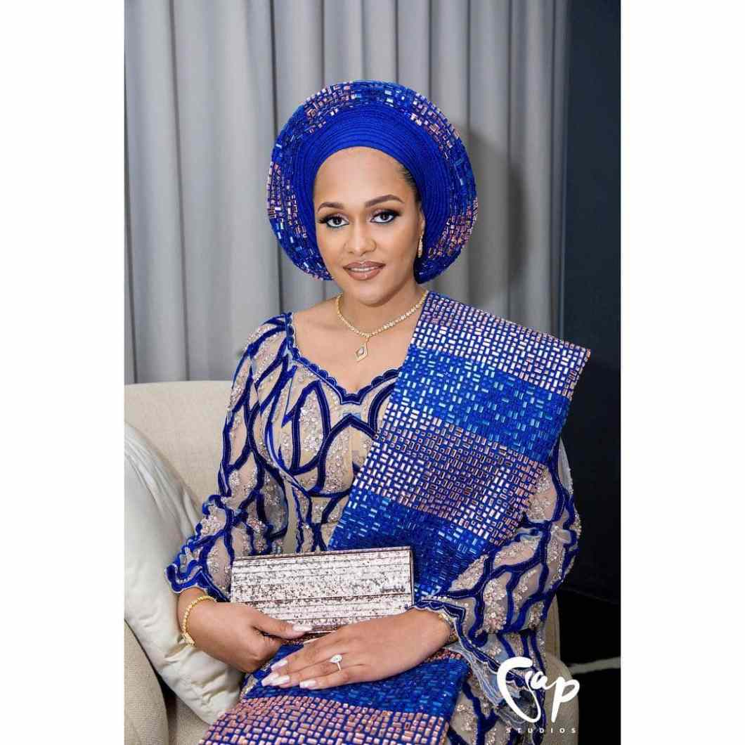 Tania Omotayo shares First Photos from Her Introduction