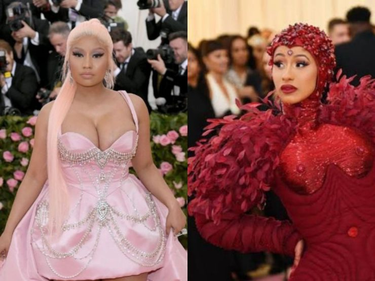 Cardi B Vs Nicki Minaj Met Gala