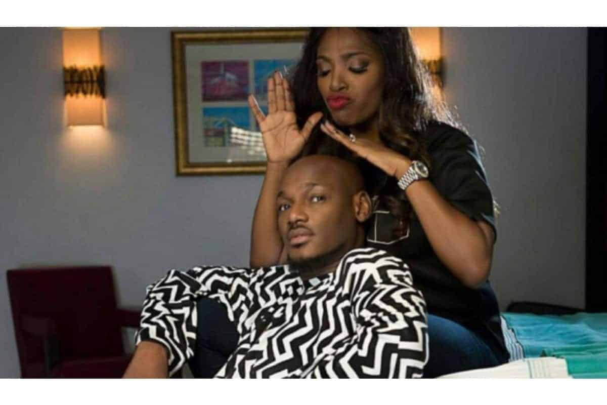Tuface Idibi and wife, Annie kiss passionately in new video - Kemi Filani