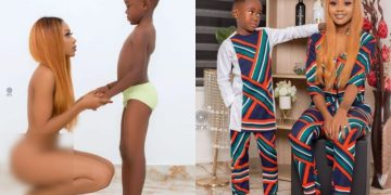 Popular Actress, Akuapem Poloo arrested for taking nak*d pictures with her son on his birthday - Kemi Filani