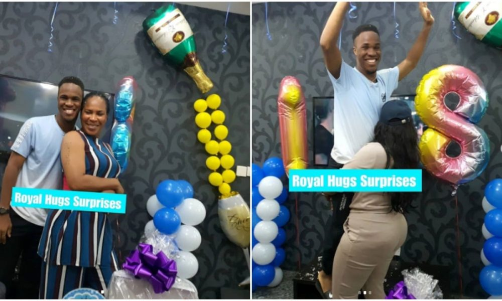 Faithia Williams gives son a royal 18th birthday surprise (photos) - Kemi Filani
