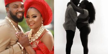 Nollywood actress Linda Ejiofor and husband, Suleiman welcome their first child together - Kemi Filani