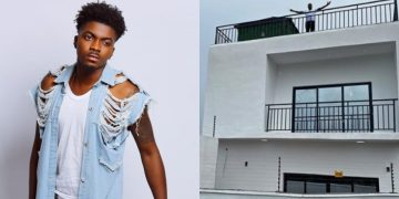 Nigerian Singer, Skiibi becomes a landlord on his birthday | Pictures - Kemi Filani
