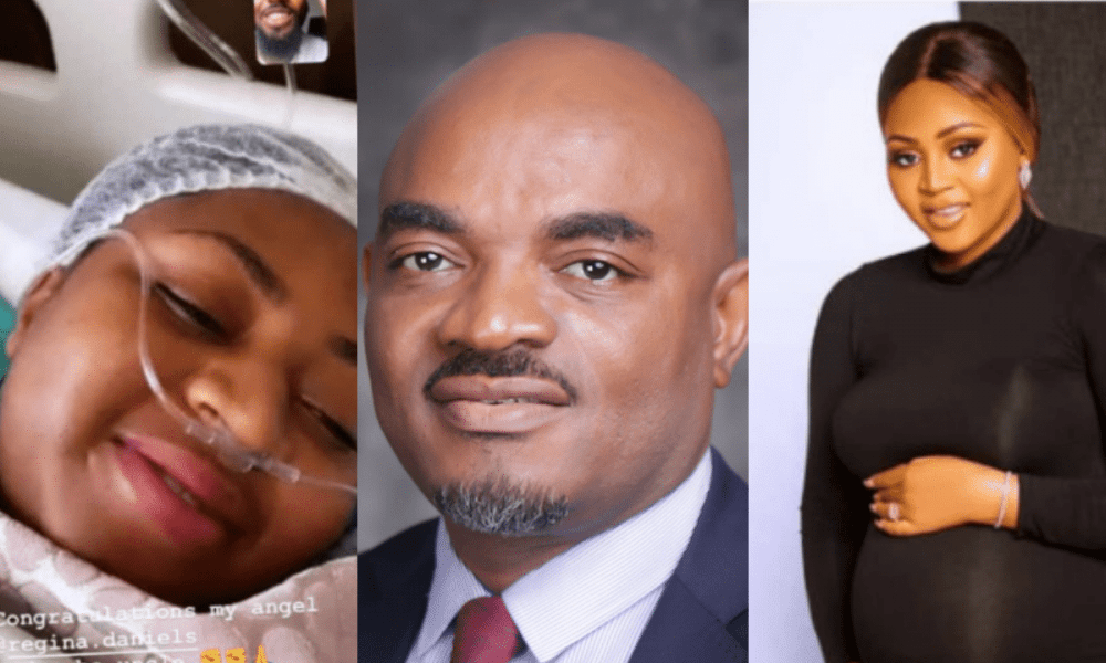 AGN president, Emeka Rollas rains curses on Nigerians for dragging them over visit to Regina Daniels - Kemi Filani
