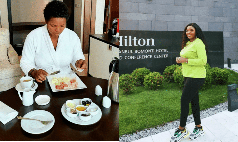 Nigerian singer Princess Peters shares adorable photos from vacation in Turkey - Kemi Filani