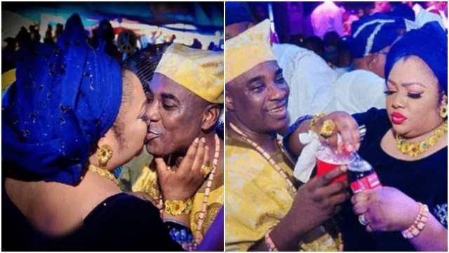 Kwam 1 and wife titi