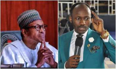 End SARS: Apostle Johnson Suleman attacks Buhari 'Your speech was useless, insensitive'