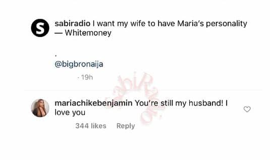 Maria and white money