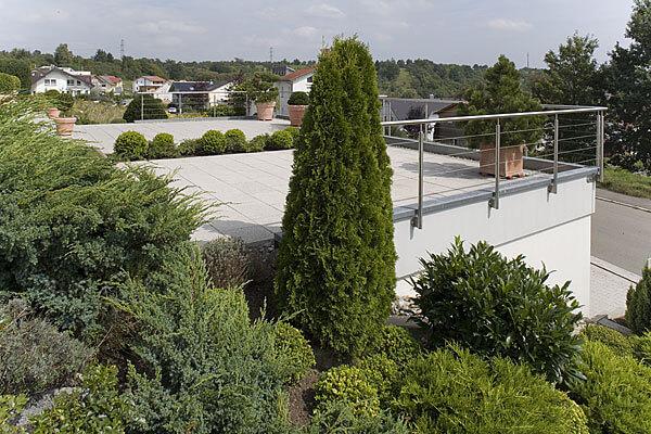 Terrassen-Garage