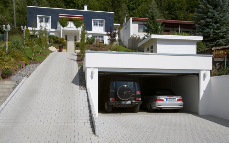 Individuelle Maßgarage