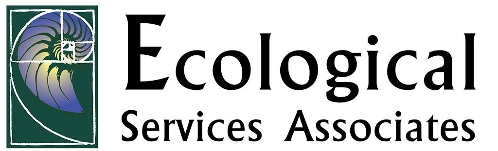 Ecological Services Associates Designed by Kemp Design Services, Biology logo, wildlife logo,