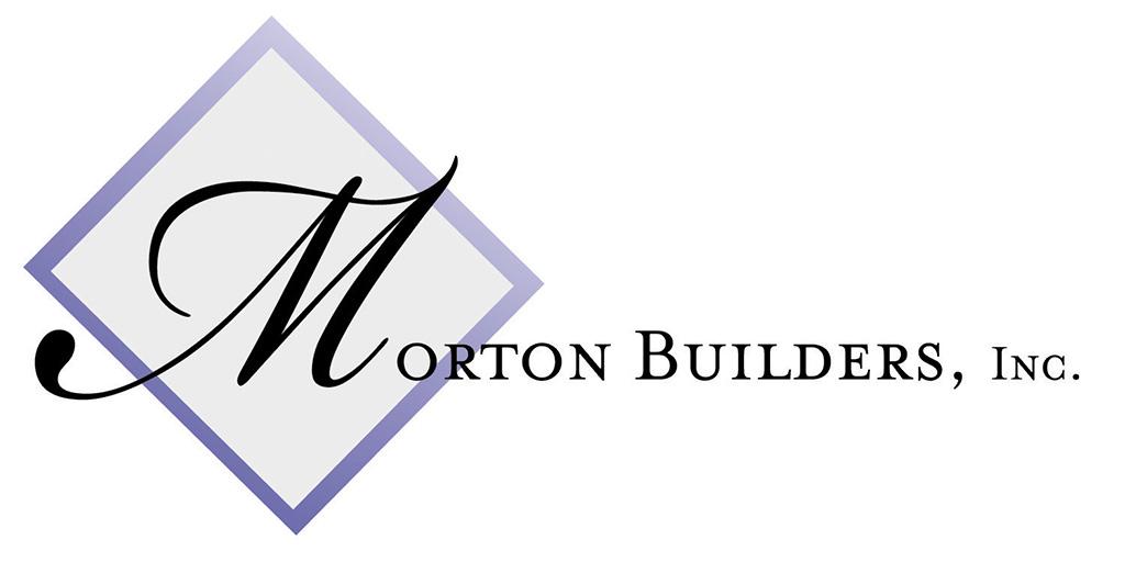 Morton Builders Logo designed by Kemp Design Services; monogram logo