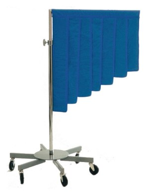 Graduated Porta-Shield Radiation Protection Barrier