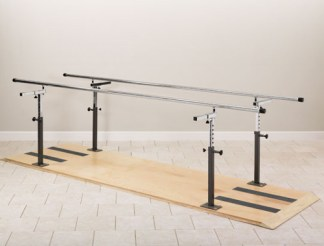 Physical Therapy Platform Mounted Parallel Bars