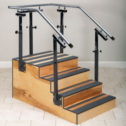 Physical Therapy Adjustable One Sided Staircase