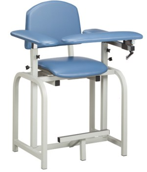Lab X Series Extra Tall Blood Draw Chair with Padded Arms