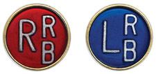 "R & L 1/2"" Button X-ray Film Markers"