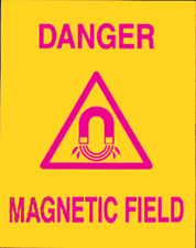 MRI Magnetic Sign